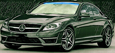 Mercedes C216 Frontscheibe Windschutzscheibe CL-Klasse S-Klasse Coupé  S-Class