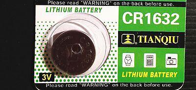 1 CR1632 CR 1632 DL1632 BR1632 3 Volt Lithium Button Cell Battery USA US Ship