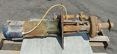 Crane Deming 5 Hp Vertical Centrifugal Stainless Pump-used