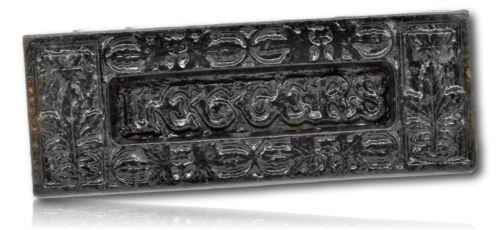 Victorian Kenrick & Sons No;12 Cast Iron Latter Box..