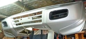 Pajero 02 Silver Front Bumper Bar Howrah Clarence Area Preview
