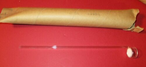 Pyrex Gas Dispersion,Fritted Disc,39525-20 M,20mm Dia.,6mm Tube,Glass,Lab,Chem