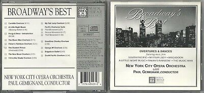 Broadway's Best by New York City Opera Children's Chorus (CD, Oct-1993,