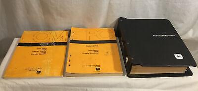 John Deere 450e 455e Crawler Dozer Loader Technical Manual Tm1330 Plus Om Pc