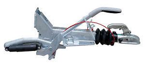 Knott Auflaufeinrichtung KF 20A ZGG v. 1100 - 2000 kg mit Stützradkonsole