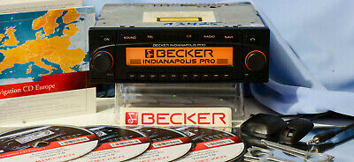 Becker Indianapolis Pro 7950 Navi MP3 BT Radio Komplettset für Youngtimer etc