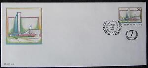 UN Headquarter New York 1995 Kuvert mit Zudruck und Ersttag Sonderstempel FDC - <span itemprop='availableAtOrFrom'>Wien, Österreich</span> - UN Headquarter New York 1995 Kuvert mit Zudruck und Ersttag Sonderstempel FDC - Wien, Österreich
