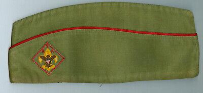 EXCELLENT Older Official Boy Scout Khaki Field HAT - SIZE LARGE - Khaki Field Uniform