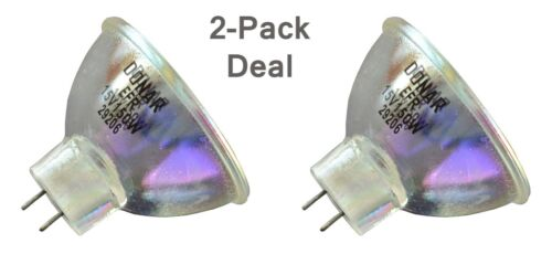 2pcs Bulb for Bencini P75 Super 8 Bell and Howell 423 Auto 8 Sound 427 21 DCT