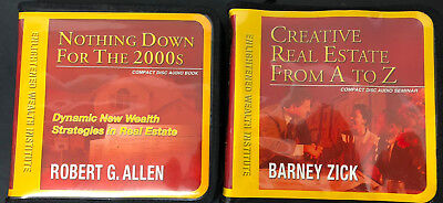 Enlightened Wealth Institute Real Estate Investing Cds Nothing Down   Creative