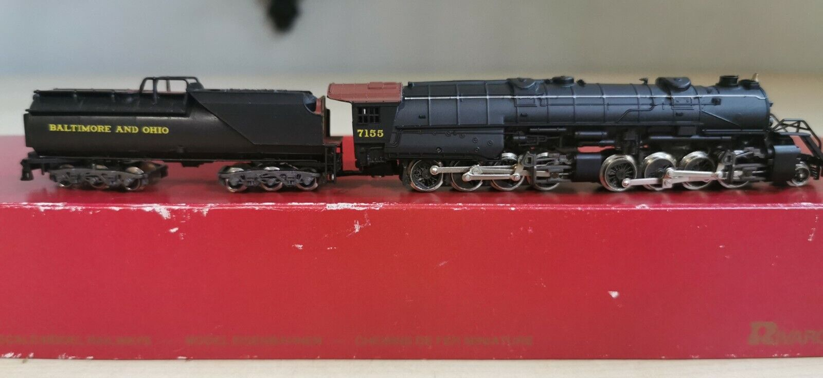 Rivarossi 9210 Baltimore and Ohio Schlepptenderlok Spur N T2925