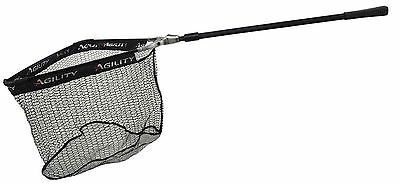Shakespeare Agility Telescopic Rubber Mesh Handle Trout / Salmon Fishing Nets