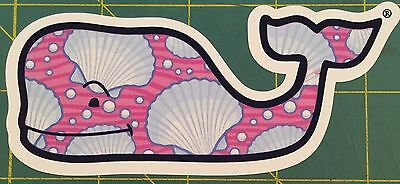 Summer Vine - Vineyard Vine Whale Summer Sea Shells Beach Sticker Decal Southern Proper