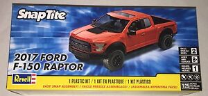 Revell 2017 Ford F-150 Raptor SnapTite 1/25 model truck kit new 1985