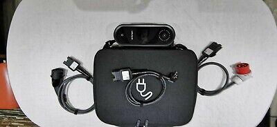 Typ 2 EV Charger Ladekabel Elektroauto Bildschirm 10/16A 1Phase Schuko Ladegerät