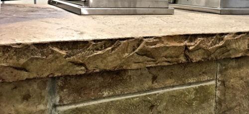 Chiseled Slate - Concrete Countertop Edge Form