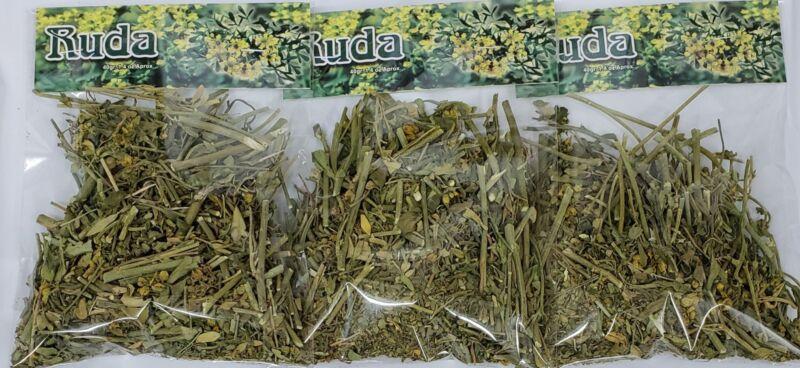 RUDA /RUE HERB (Ruta graveolens) 3 PACK X 40 GR EA GOOD QUALITY FROM PERU !