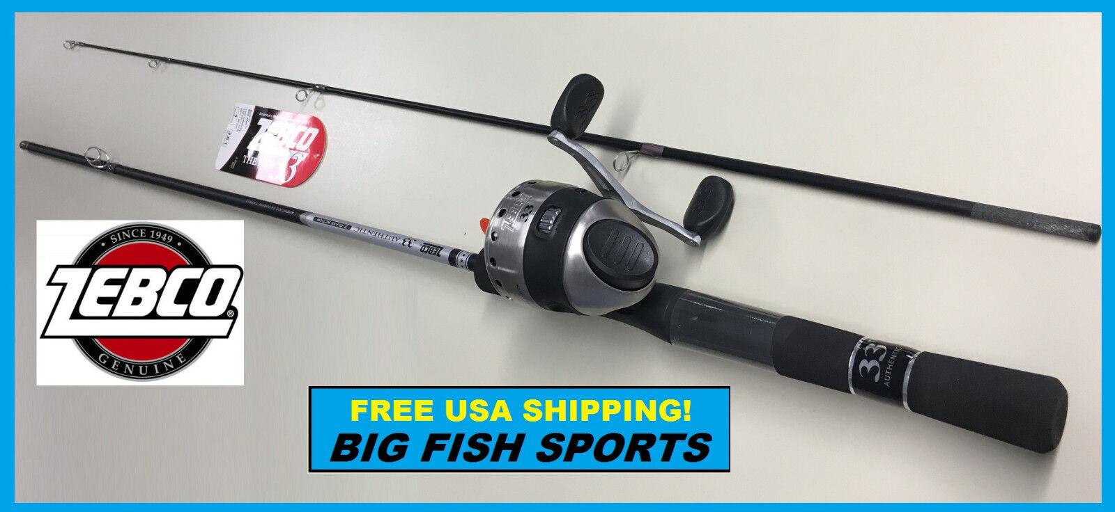 QUANTUM XTRALITE 6/' Fishing Combo Rod and Reel NEW #XTS05602UL FREE SHIPPING!