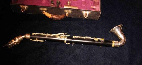RARE c1918-23 Cased CLARINET-SAXOPHONE