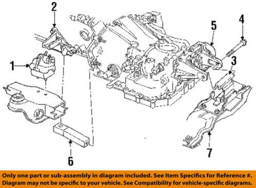 CHRYSLER OEM Engine Motor Transmission-Rear Bracket 4567035