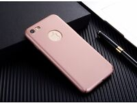 iPhone 7 Case, Ultra Thin Armor Hard Cover, smooth grip, matte finish. (6 Colours)