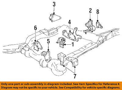 GM OEM-Engine Motor Mount//Torque Strut 10448575