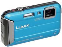 Panasonic Lumix DMC-FT25EB /16.1MP/4x Optical Zoom/Waterproof /Shockproof/Freeze-Proof/Sale or swaps for sale  London
