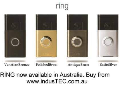 RING Video Wifi Intercom Doorbell on Mobile/Tablet AUS Stock Sydney City Inner Sydney Preview