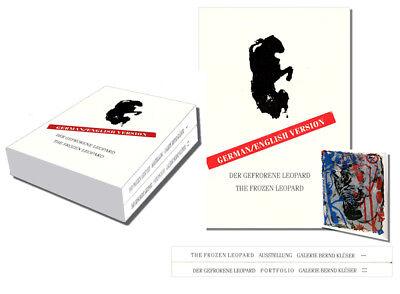THE FROZEN LEOPARD - DER GEFRORENE LEOPARD 1992 - 2 Vols in Slipcase, 3925219102 Der Film Frozen