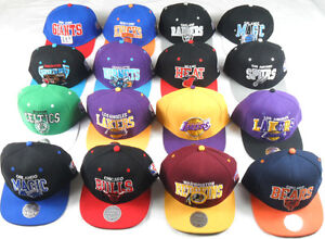 NBA-NFL-MITCHELL-NESS-SNAPBACKS-CAPS-HAT-VARIOUS-STYLES