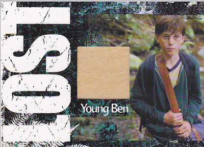 LOST RELICS BEAUMON AS YOUNG BEN LINUS CC25 COSTUME MATERIAL CARD 265/350