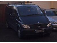 Mercedes vito 115 dualiner - 6 seats - vgc - 150 bhp - no vat - sensible offers considered