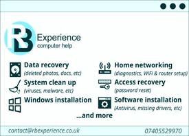 Computer help and repair in West and Central London