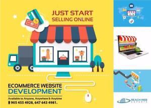 Web store / web design / web development / Digital marketing call 6476434981