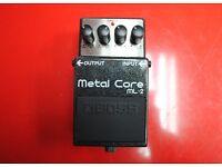 Boss Metal Core ML-2 Guitar Pedal £80