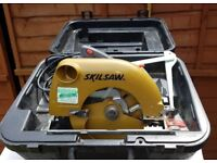 Skill Saw. Power circular saw, in its own case, second hand and in good condition