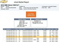 2014 GMC Sierra 1500 SLT - All Terrain - Sunroof