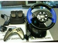 Xbox / ps2 steering wheel