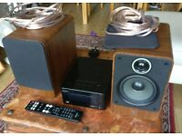 DENON ceol piccolo dra-n5 + Q-Acoustics 2020i