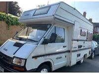 Renault traffic elddis 4 berth campervan/ delivery available