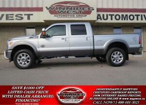 2011 Ford F-350 LARIAT CREW POWERSTROKE, ROOF, NAV, LEATHER