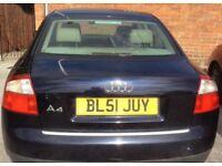 Audi A4, Quattro, 2002, 2.5L, diesel, manual. Urgent Sale.