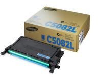 Toner Cartridge Samsung CLT-C5082L (SU055A) Cyan High Capacity Toner Cartridge (Original)