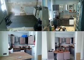 Kitchen Fitter, Bathroom Fitter, Plumber, Plastering, Carpenter, Handyman, Painting And Decorating