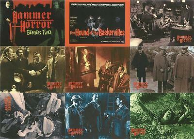 Hammer Horror Cornerstone Series 2 Full 81 Card Base Set + CL Checklist Card