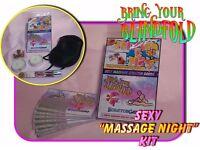 Saucy Massage Scratchcard kit