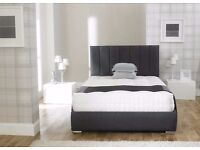 **FREE UK DELIVERY** Rome Luxury Fabric Ottoman Storage Bed -BRAND NEW!
