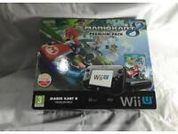 Wii U Premium Console - Boxed With Mario Kart
