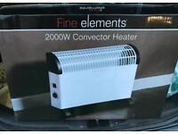 Convector Heater 2000W ( 750W + 1250W)