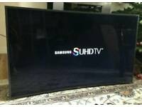 55in Samsung 8 SERIES 3D Curved SUHD 4K Ultra HD Smart LED [NO STAND]